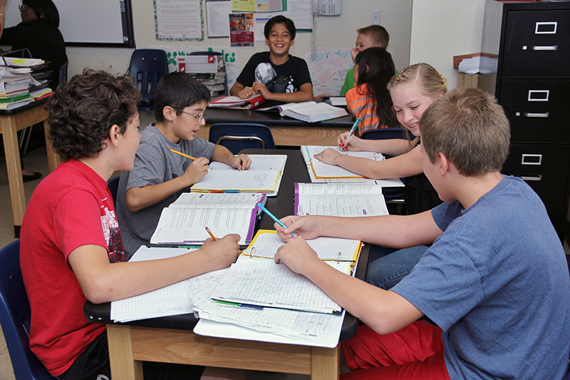 santan learning center learn happy kids studying together